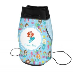 Mermaids Neoprene Drawstring Backpack (Personalized)