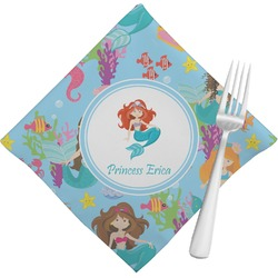 Mermaids Napkins (Set of 4) (Personalized)