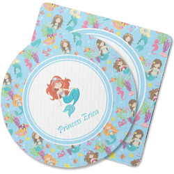 Mermaids Rubber Backed Coaster (Personalized)
