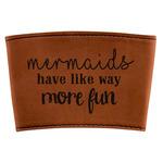 Mermaids Leatherette Mug Sleeve (Personalized)