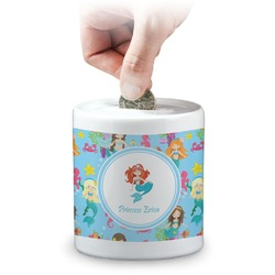 Mermaids Coin Bank (Personalized)