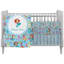 Mermaids Crib Comforter / Quilt (Personalized)