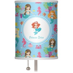 "Mermaids 7"" Drum Lamp Shade (Personalized)"