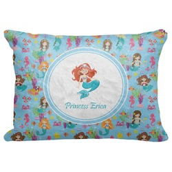 "Mermaids Decorative Baby Pillowcase - 16""x12"" (Personalized)"