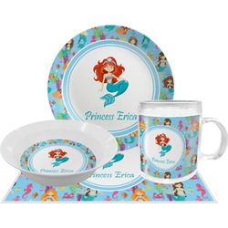 Mermaids Dinner Set - 4 Pc (Personalized)