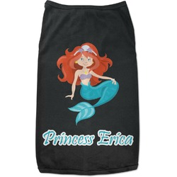 Mermaids Black Pet Shirt (Personalized)