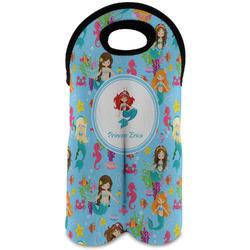 Mermaids Wine Tote Bag (2 Bottles) (Personalized)