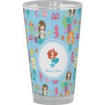 Mermaids Drinking / Pint Glass (Personalized)