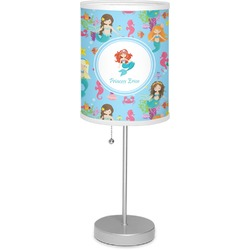 "Mermaids 7"" Drum Lamp with Shade (Personalized)"