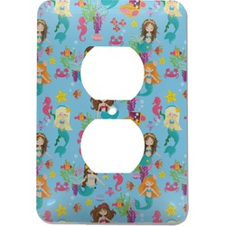 Mermaids Electric Outlet Plate (Personalized)