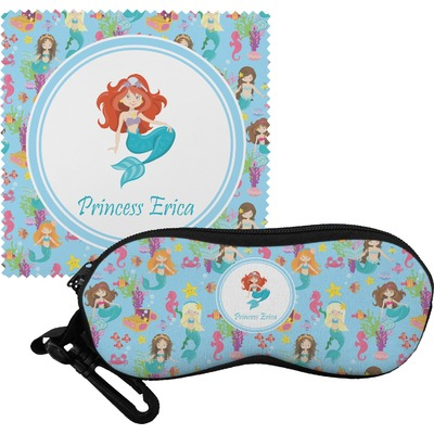 Mermaids Eyeglass Case & Cloth (Personalized)