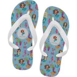 Mermaids Flip Flops - XSmall (Personalized)