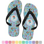 Mermaids Flip Flops (Personalized)