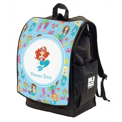 Mermaids Backpack w/ Front Flap  (Personalized)