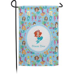 Mermaids Garden Flag - Single or Double Sided (Personalized)