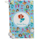 Mermaids Golf Towel - Full Print (Personalized)