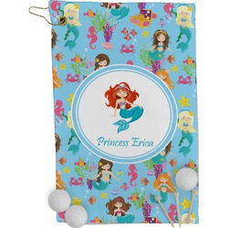 Mermaids Golf Towel - Full Print (Personalized)