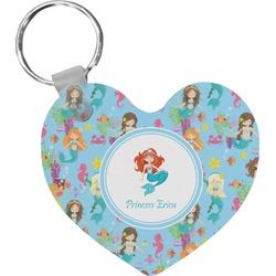 Mermaids Heart Keychain (Personalized)