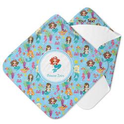 Mermaids Hooded Baby Towel (Personalized)