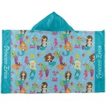Mermaids Kids Hooded Towel (Personalized)