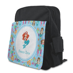 Mermaids Kid's Backpack with Customizable Flap (Personalized)