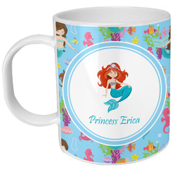 Mermaids Plastic Kids Mug (Personalized)