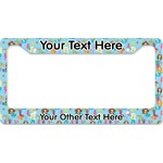 Mermaids License Plate Frame (Personalized)