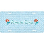 Mermaids Front License Plate (Personalized)