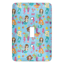 Mermaids Light Switch Covers - Multiple Toggle Options Available (Personalized)