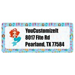 Mermaids Return Address Labels (Personalized)
