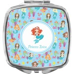 Mermaids Compact Makeup Mirror (Personalized)
