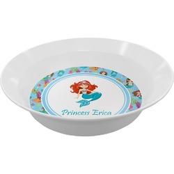 Mermaids Melamine Bowl (Personalized)
