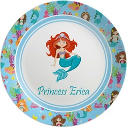 Mermaids Melamine Plate (Personalized)