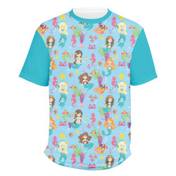 Mermaids Men's Crew T-Shirt (Personalized)
