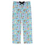 Mermaids Mens Pajama Pants (Personalized)