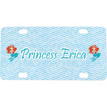 Mermaids Mini / Bicycle License Plate (Personalized)