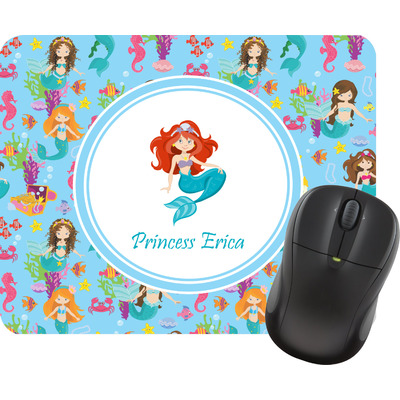 Mermaids Rectangular Mouse Pad (Personalized)