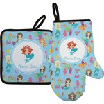 Mermaids Oven Mitt & Pot Holder (Personalized)