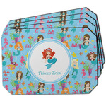 Mermaids Dining Table Mat - Octagon w/ Name or Text