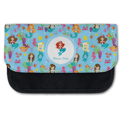 Mermaids Canvas Pencil Case w/ Name or Text