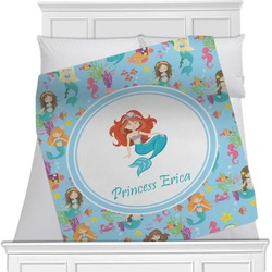 Mermaids Minky Blanket (Personalized)