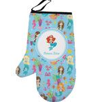Mermaids Left Oven Mitt (Personalized)