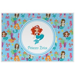 Mermaids Placemat (Laminated) (Personalized)