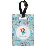 Mermaids Rectangular Luggage Tag (Personalized)