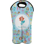 Mermaids Wine Tote Bag (2 Bottles) (Personalized)