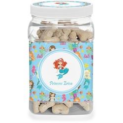 Mermaids Dog Treat Jar (Personalized)