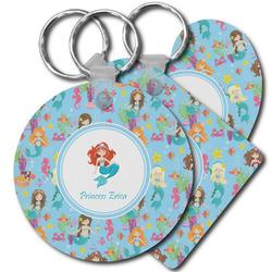 Mermaids Plastic Keychains (Personalized)