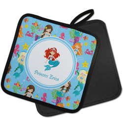 Mermaids Pot Holder w/ Name or Text