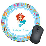 Mermaids Round Mouse Pad (Personalized)