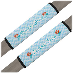 Mermaids Seat Belt Covers (Set of 2) (Personalized)